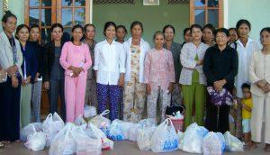 Katastrophenhilfe (Grundnahrungsmittel) nach Taifun